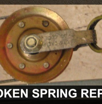 Garage Door Broken Spring Repairs Amarillo Highweber